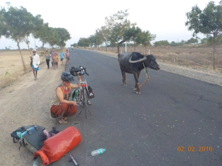 last puncture repair in Maharashtra, goodbye incredible thorns of the desert state!!! You won't be missed, although im happy i mastered putting tyres on without levers.