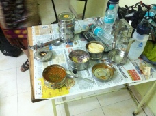 tiffin boxes, unlocked local prices and crazy portions.
