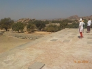 rest of hampi in the distance, most of it consisted of temples, farmland and market stalls
