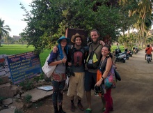 Brak and Laura, best company in Hampi!