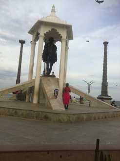 Ghandhi memorial on the coast