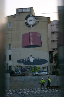 random street art in Kadikoy