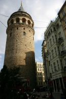 the mighty galata tower, im fine taking a picture from here, no need for the 2hr queue to climb the stairs :D