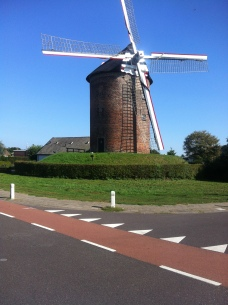 last of the beautiful windmills in NL