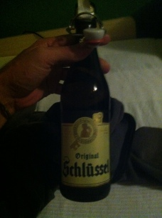 my amazing host in Dusseldorf treated me to some excellent beer :D